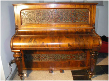 Pianino John Broadwood & Sons 1863